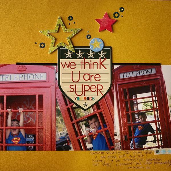 we think u are super by jamiekcc&e @2peasinabucket