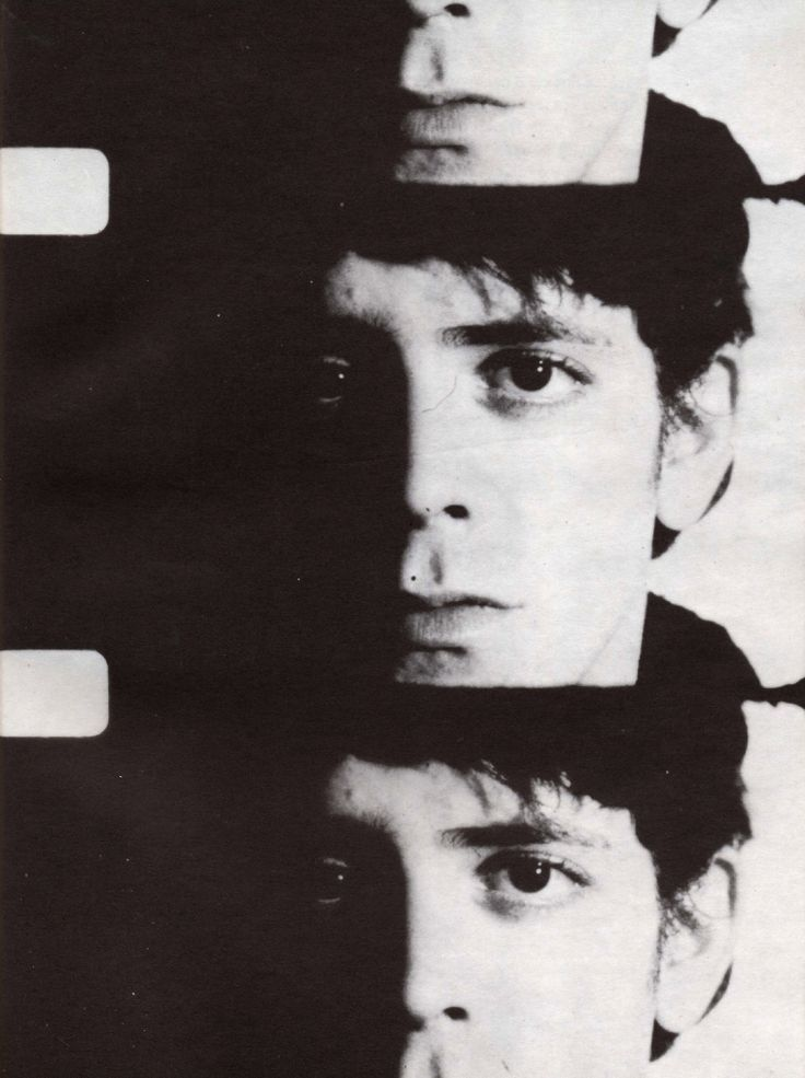 Lou Reed by Andy Warhol [1942-2013]