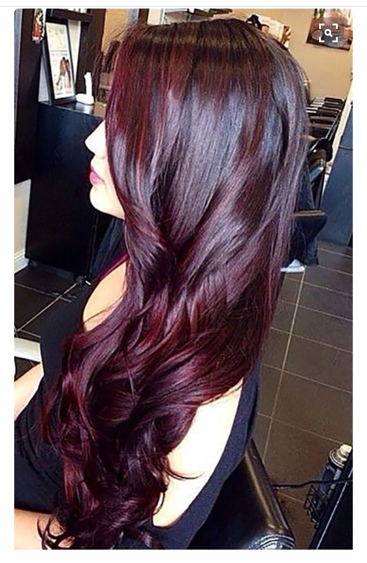 Pin By Maris Swid On Hair Nails Makeup Oh My Hair Styles Gorgeous Hair Color Hair Color Burgundy
