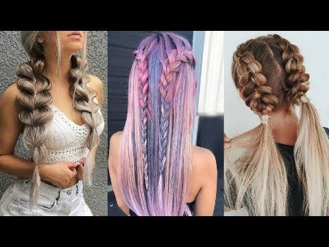 PEINADOS FÁCILES CON TRENZAS 2018 2019   Easy Braided Hairstyles  Compilation - YouTube 4cd0f248d3cc