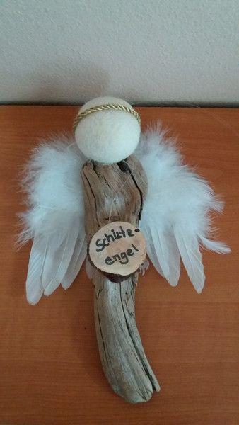 Deko objekte engel schutzengel aus treibholz - Bastelideen weihnachten kindergartenkinder ...