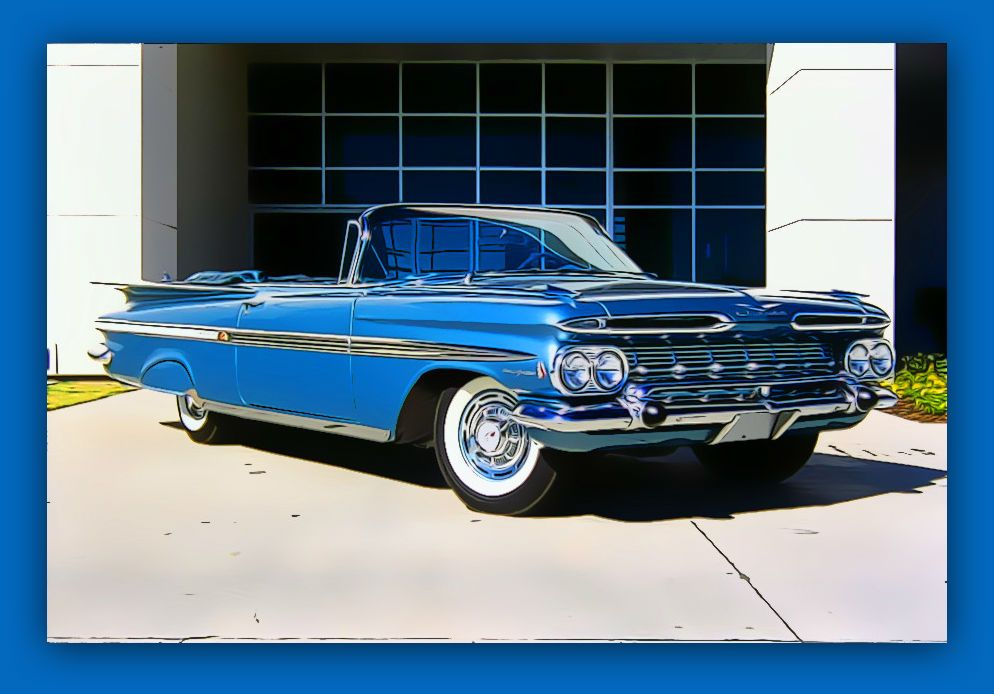 1959 chevrolet impala convertible american classic cars