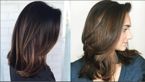 Model Dan Gaya Rambut Wanita Tren 2020 Gaya Rambut Gaya Rambut Sedang Potongan Rambut Panjang