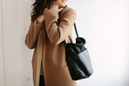 Leather and Canvas Sailor Carryall by All Hands for Of a Kind