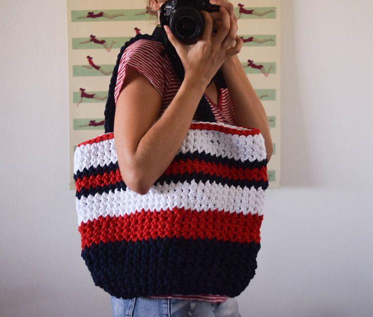 Ganxxet Fabric Yarn Summer Bag   FABRIC YARN PATTERNS AND