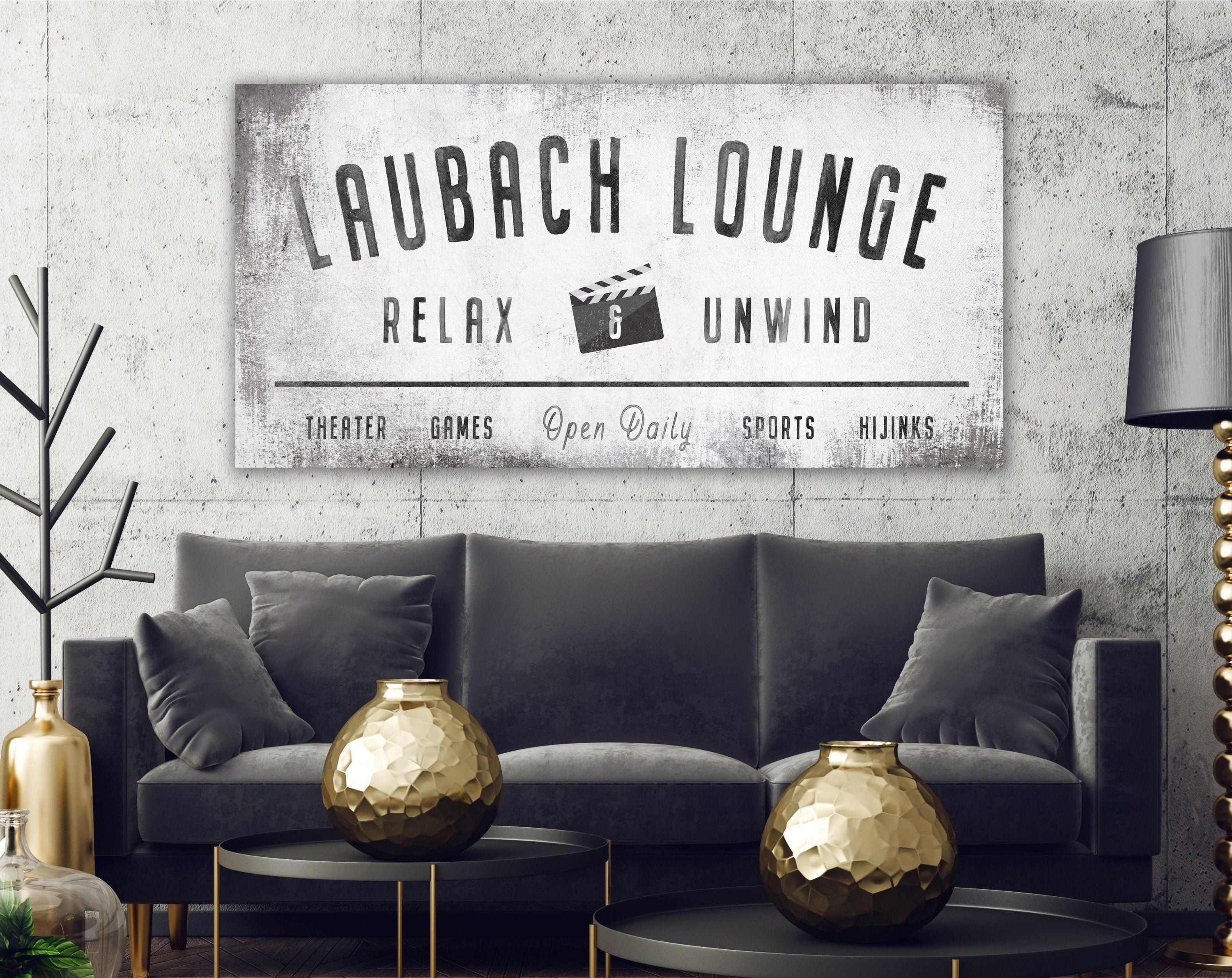 Modern Farmhouse Wall Decor Family Lounge Sign, Personalized Last Name Sign for Living Room, Vintage Industrial Wall Art for Game Movie Room #decor #family #farmhouse #living #lounge #Modern #personalized  What's Dwelling Theater System The unit choices providing photographs are very broad from regular tube tv to plasma display screen. It may also be attainable to make use of present tv to create residence cinema. The particular state of affairs is barely totally different by way of video gamer