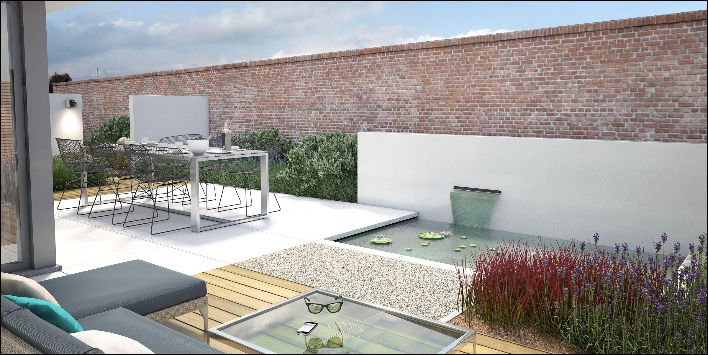 Modern garden house  garden landscaping tuin tuinontwerp archviz architecture tuin