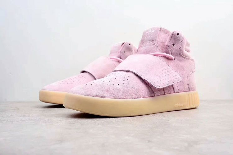 12763e97c New Adidas Tubular Invader Strap Vapor Pink using tall pink suede shoes  body