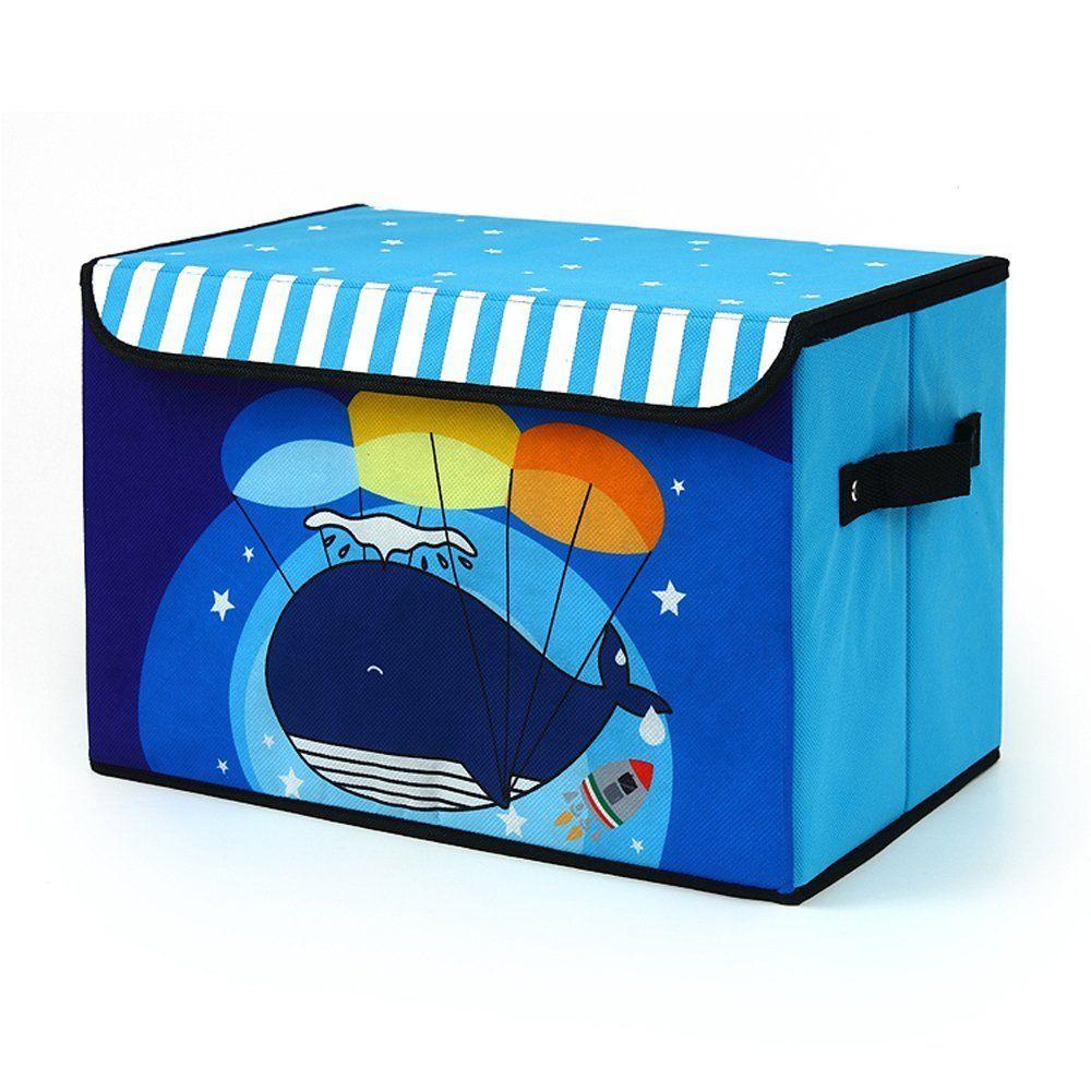 Faltboxen Aufbewahrungsbox Faltbar mit Deckel 38 x 25 x