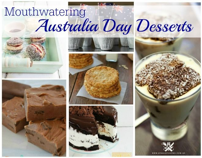 Mouthwatering Australia Day Desserts Desserts Australia Day Sweet Tooth