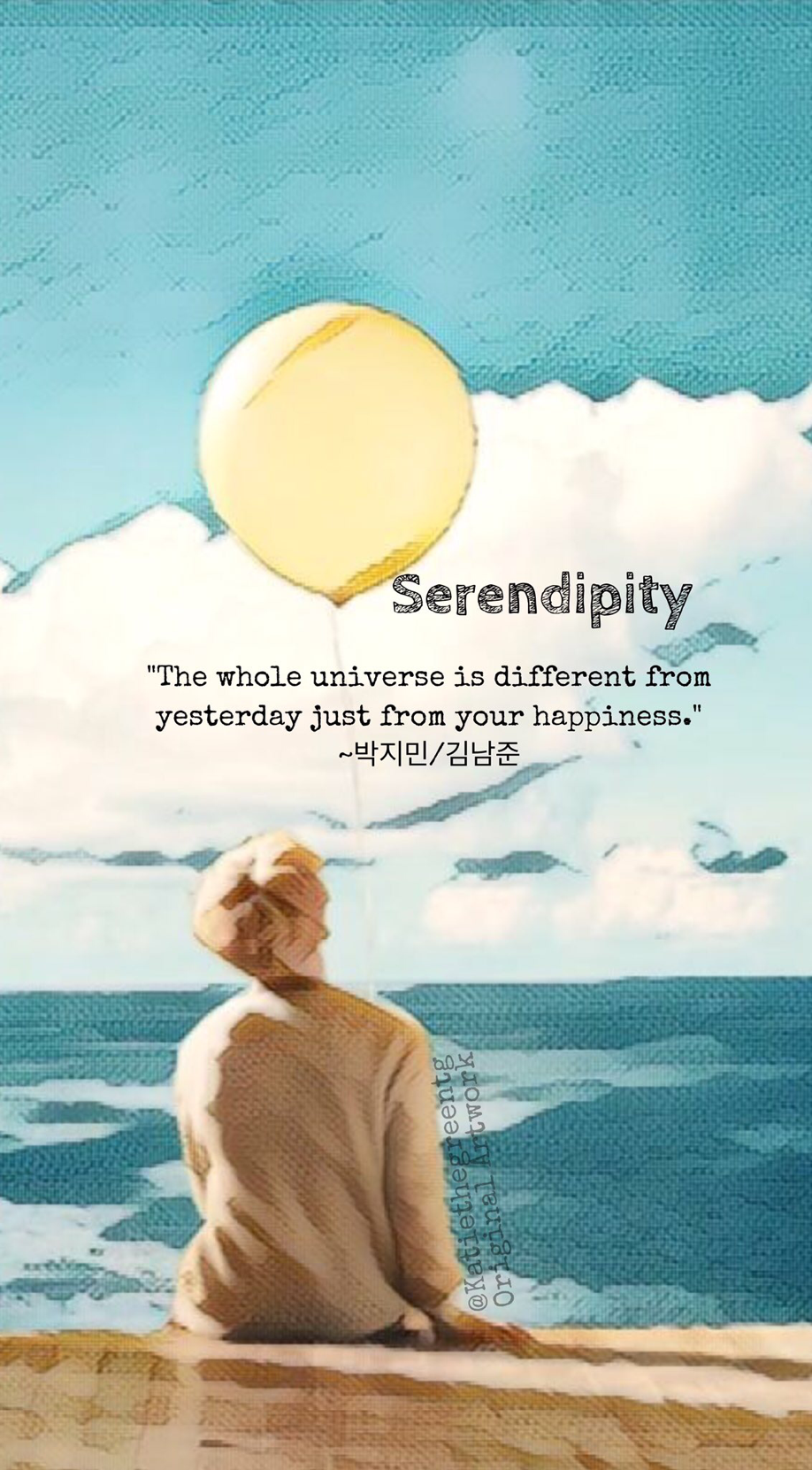 Love Yourself Quotes Wallpaper : Bts wallpaper serendipity Jimin her loveyourself love yourself BTS ? Pinterest Bts ...