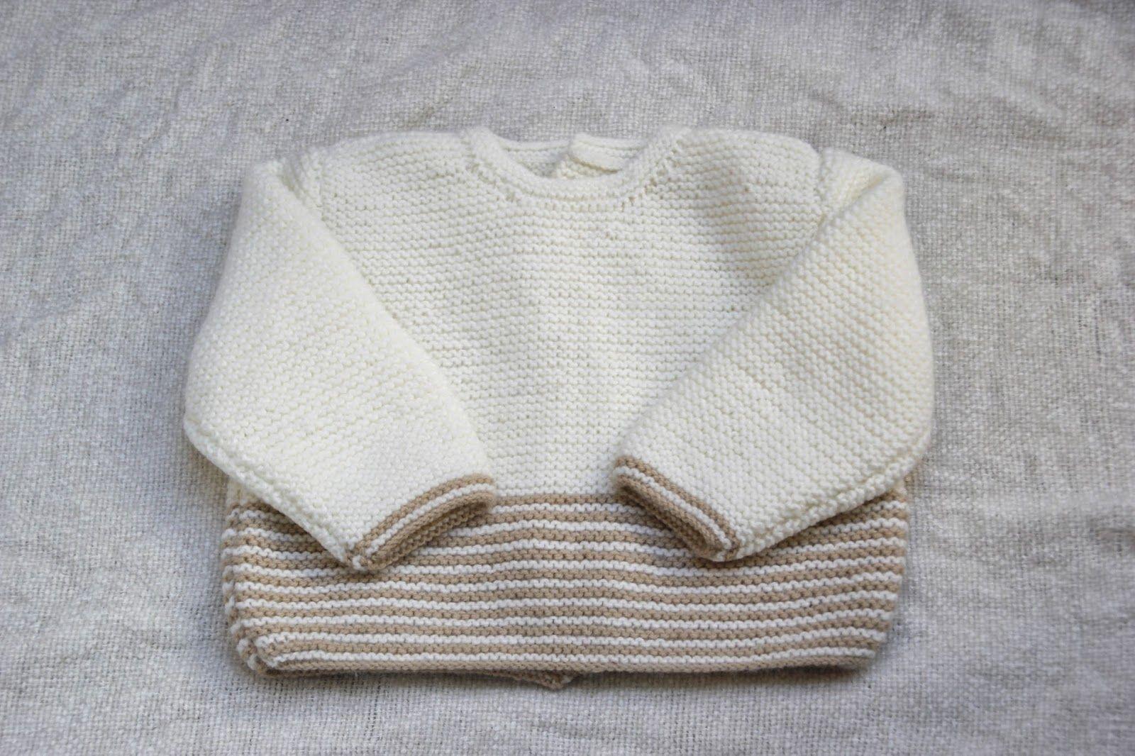 DIY Tejer Ropa bebé: Cómo hacer jersey de lana PARTE 1 (patrones ...