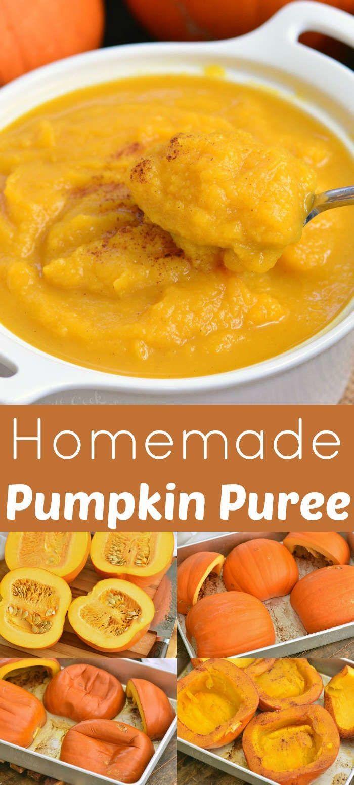Pumpkin Puree #pumpkinpureerecipes