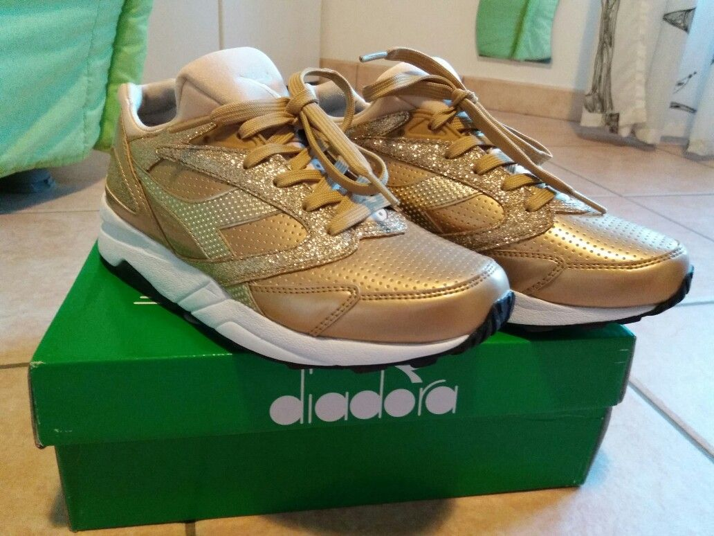 I❤diadora in gold!