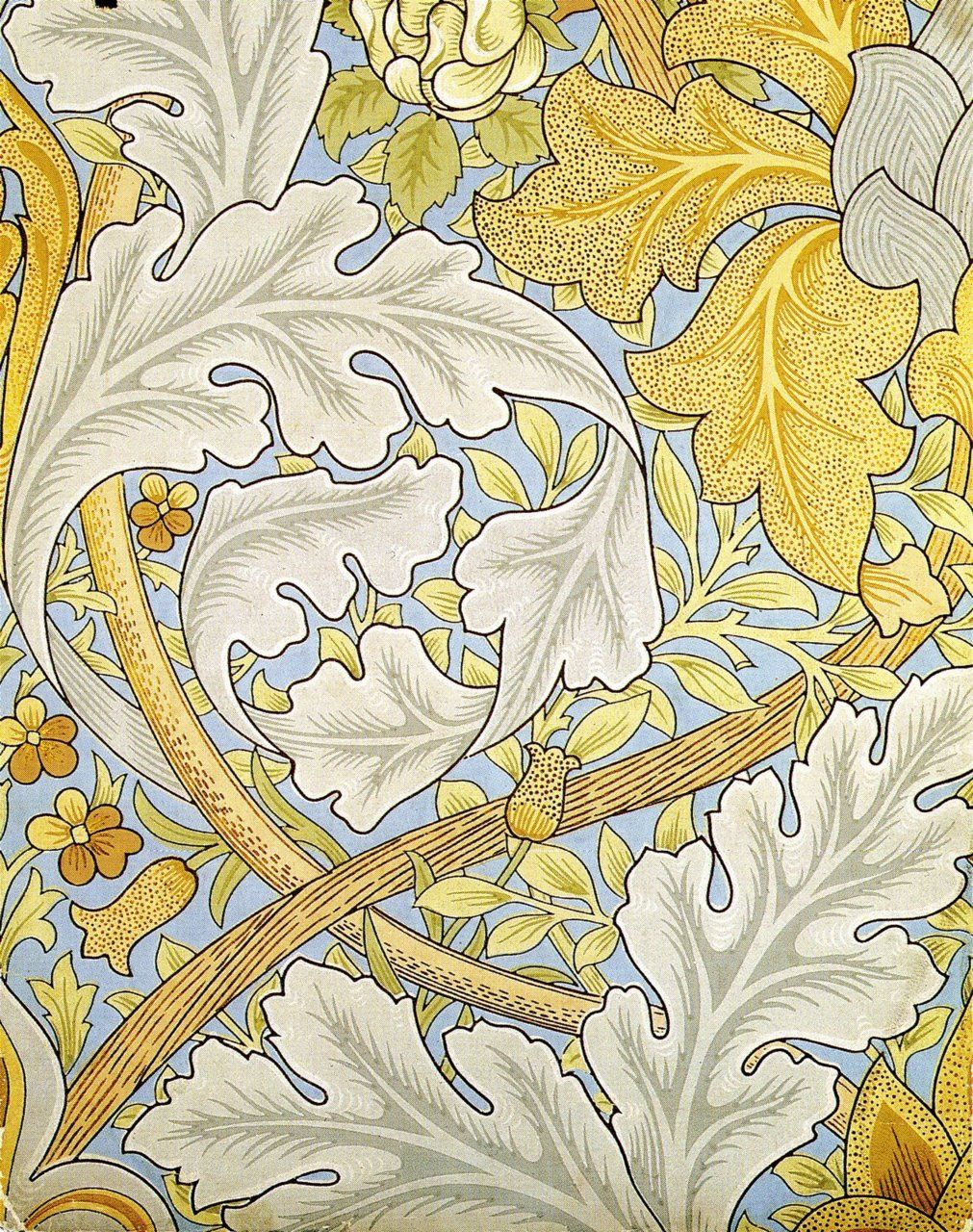 myaloysius: William Morris Pattern circa 1880 | FLORAL | Pinterest ...