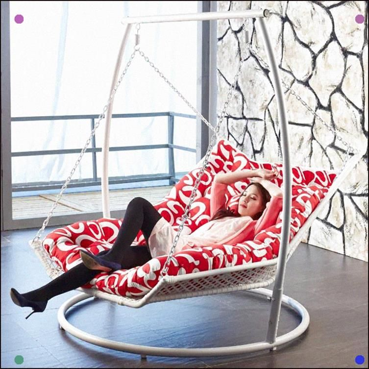 Indoor hanging chaise lounge i love this enough room for