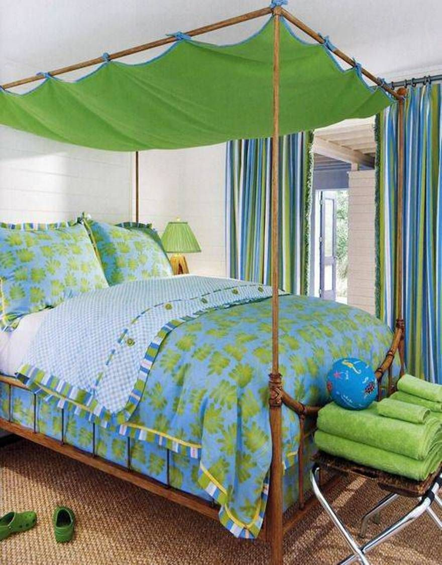 Canopy Bed Top bedroom , beachy bedroom ideas for teenage girl : beachy bedroom