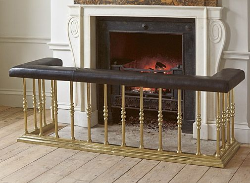 Fireplace fender and Fire surround