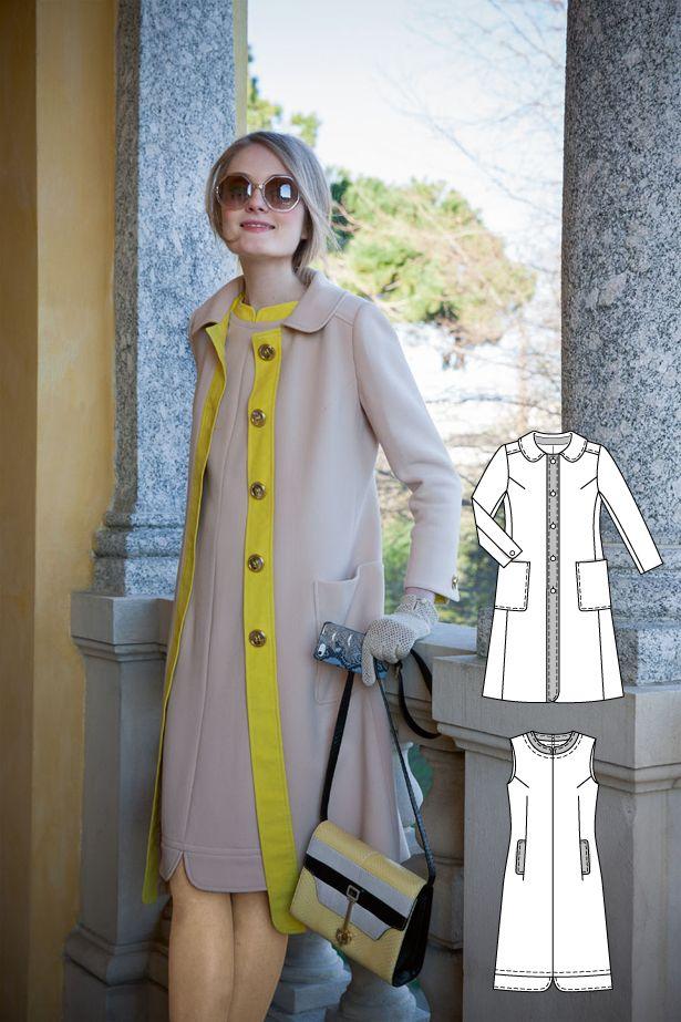 1960s Vintage: 11 New Women\'s Sewing Patterns | Pinterest | Mäntel ...