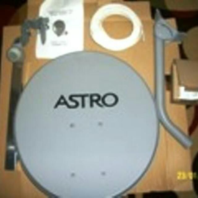 Buy Astro Dish Piring Astro 1 Complete Set With Cable In