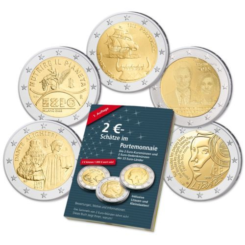 Spar Set 2 Euro 2015 5 Neue 2 Euromuenzen 2015 Gratis 2 Eurokatalog Euromunzen Ebay Euro