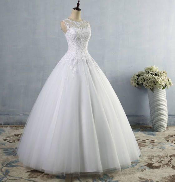 Elegant. Bescheiden. Feminin. Ich glaube nicht, dass eine Brautkleid ...