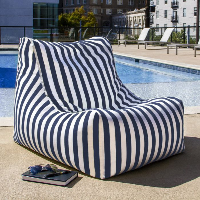 You Ll Love The Sunbrella Bean Bag Chair At Allmodern With Great Deals On Modern Living Products And Free Shipping Most Stuff Even