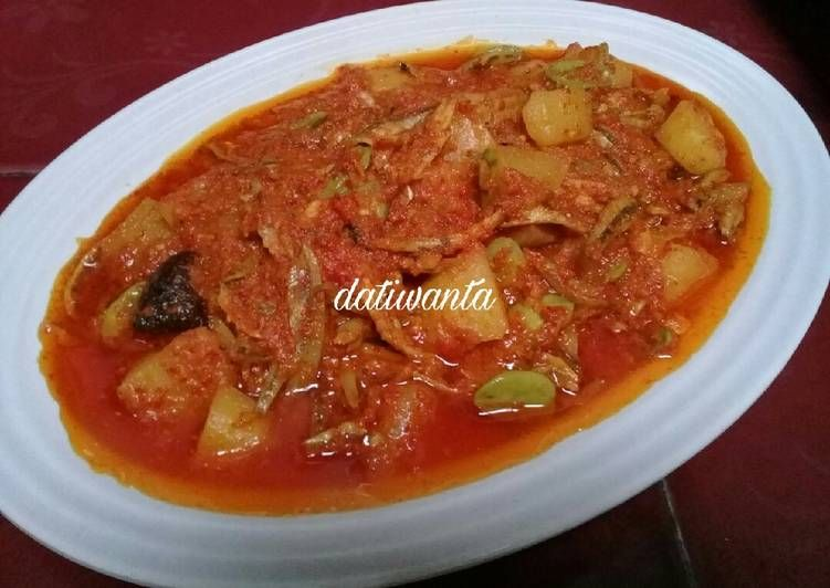 Resep Sambalado Tanak Oleh Ria Mariana Resep Resep Resep Masakan Masakan