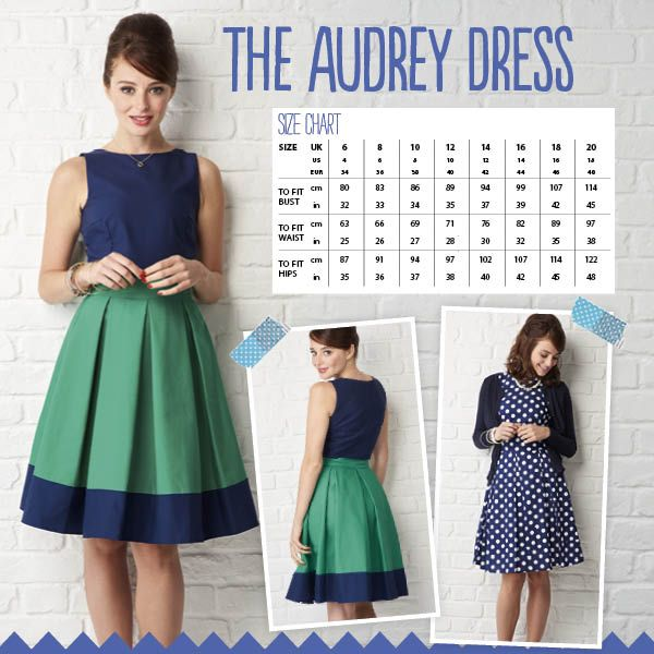 The Audrey Dress: sew-up instant vintage style with this retro frock ...