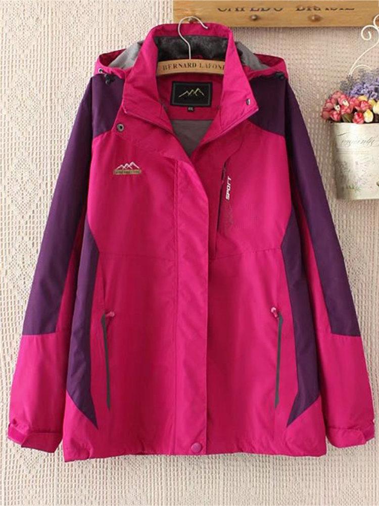 Sport Zipper Hooded Coats For Women 2