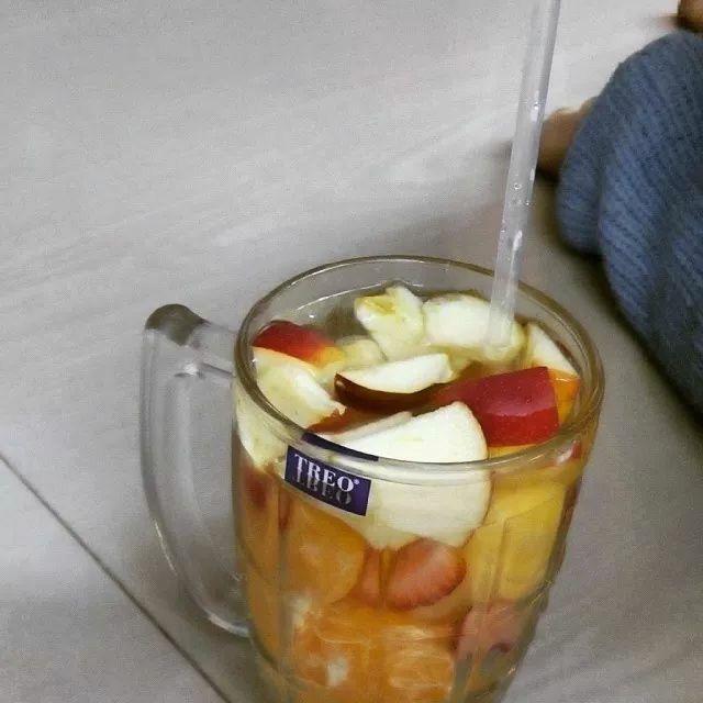 My colorful fruit infused water! #detox #drink #health #diet