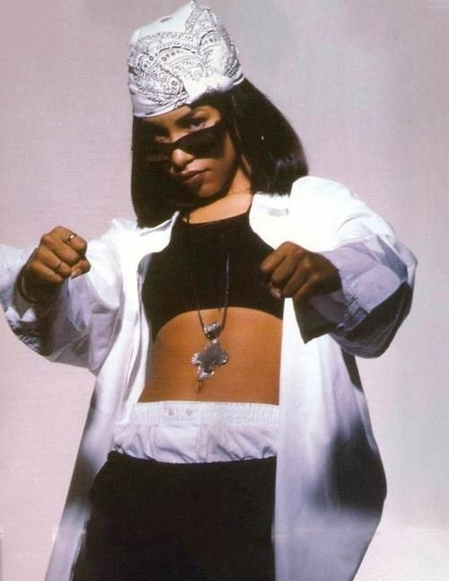 Aaliyah | me2 in 2019 | Hip hop outfits, Aaliyah style, Hip hop fashion