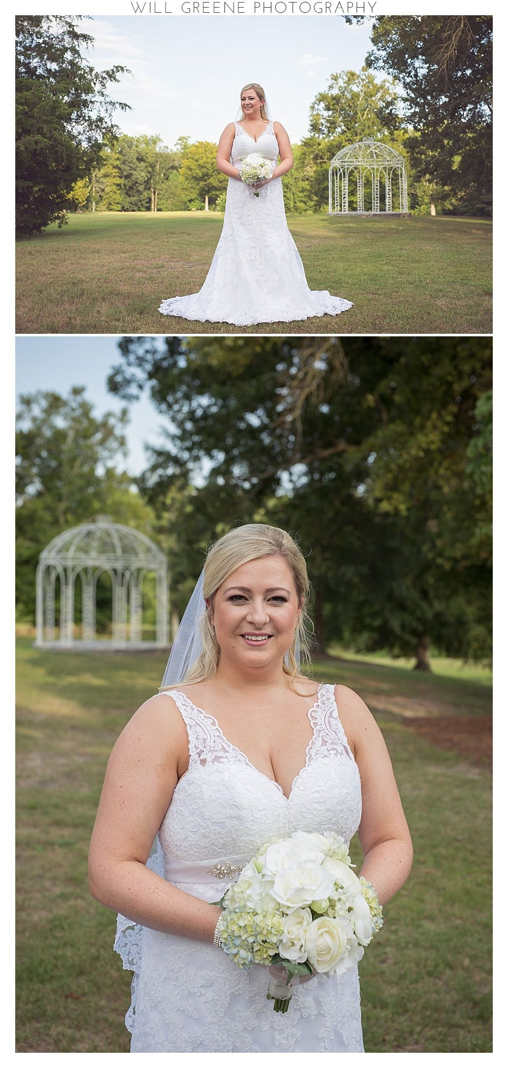 katie's rock springs center bridal session, greenville nc