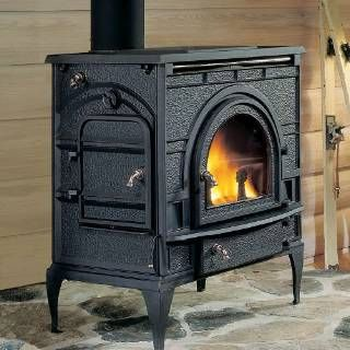 Majestic 0002461 Dutchwest Catalytic Large Wood Stove Outdoor Wood Burning Fireplace Vermont Castings Wood Stove Wood Fireplace Inserts