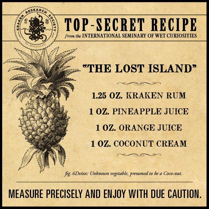 27 Kraken Recipes Ideas Kraken Rum Rum Recipes Rum Drinks