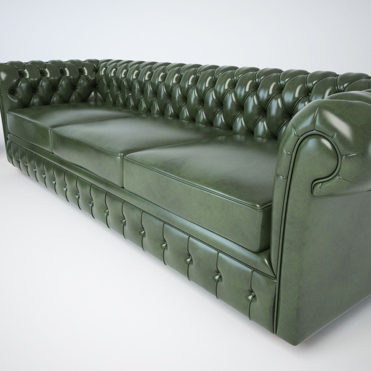 Chesterfield Sofa And Chair 3d Classic Chesterfield Sofas Chair Model 3d Model Sofa Settee