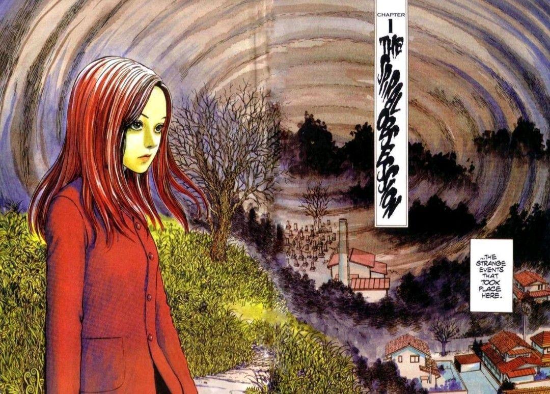 Uzumaki ( Junji Ito ) em 2020 Naruto, Manga, Tema