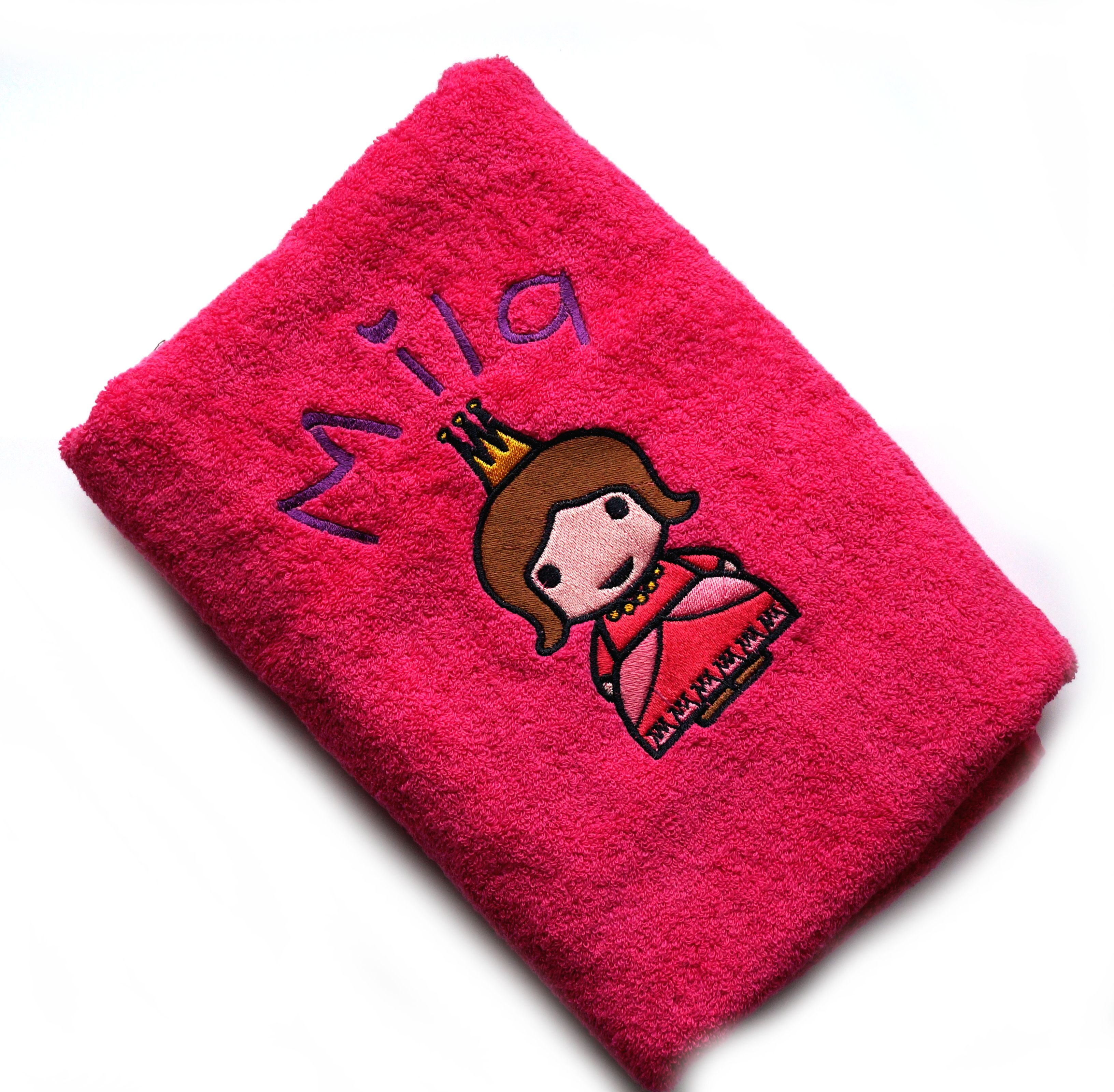 Just Married Handdoek.Gepersonaliseerde Handdoek Op Www Lolelo Be Fuchsia