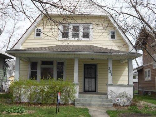 SOLD Irvington Area 3 Bedroom Charmer, Listed At $95,000.00 2.5 Car  Detached Garage, Basement