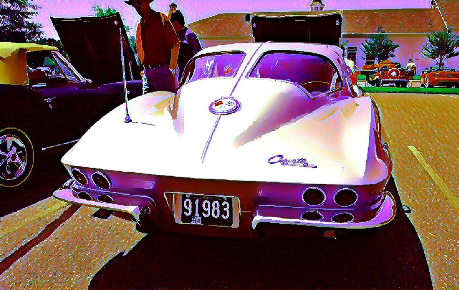 vintage Chevy Corvette \