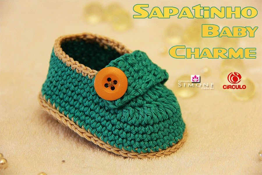 Sapatinhos Para Bebê - Life Baby: Passo a passo Sapatinho Baby Charme - Professora S...