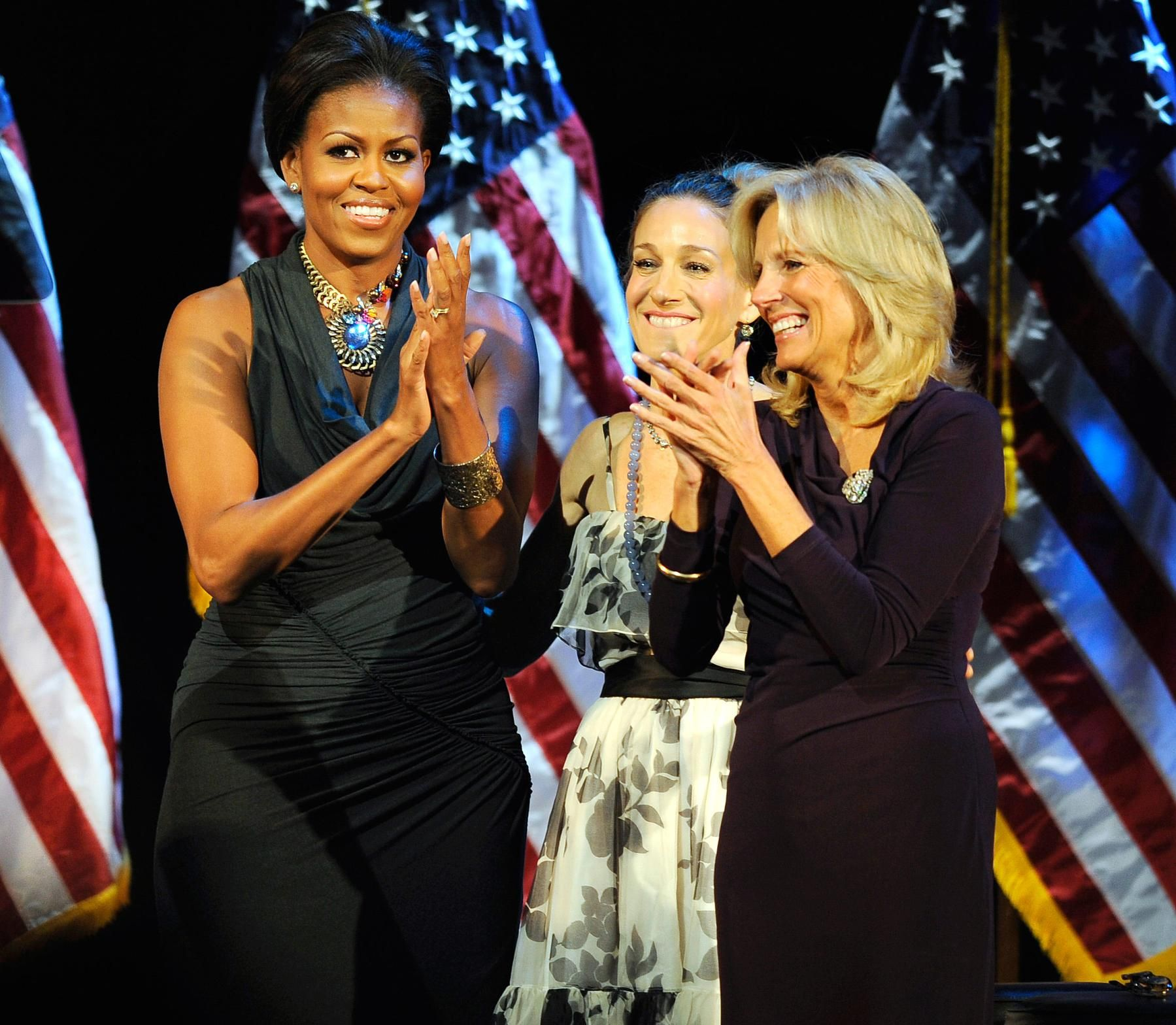 Jessica sarah parker obama fundraiser video new photo