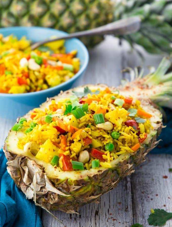 Photo of Gebratener Reis mit Ananas