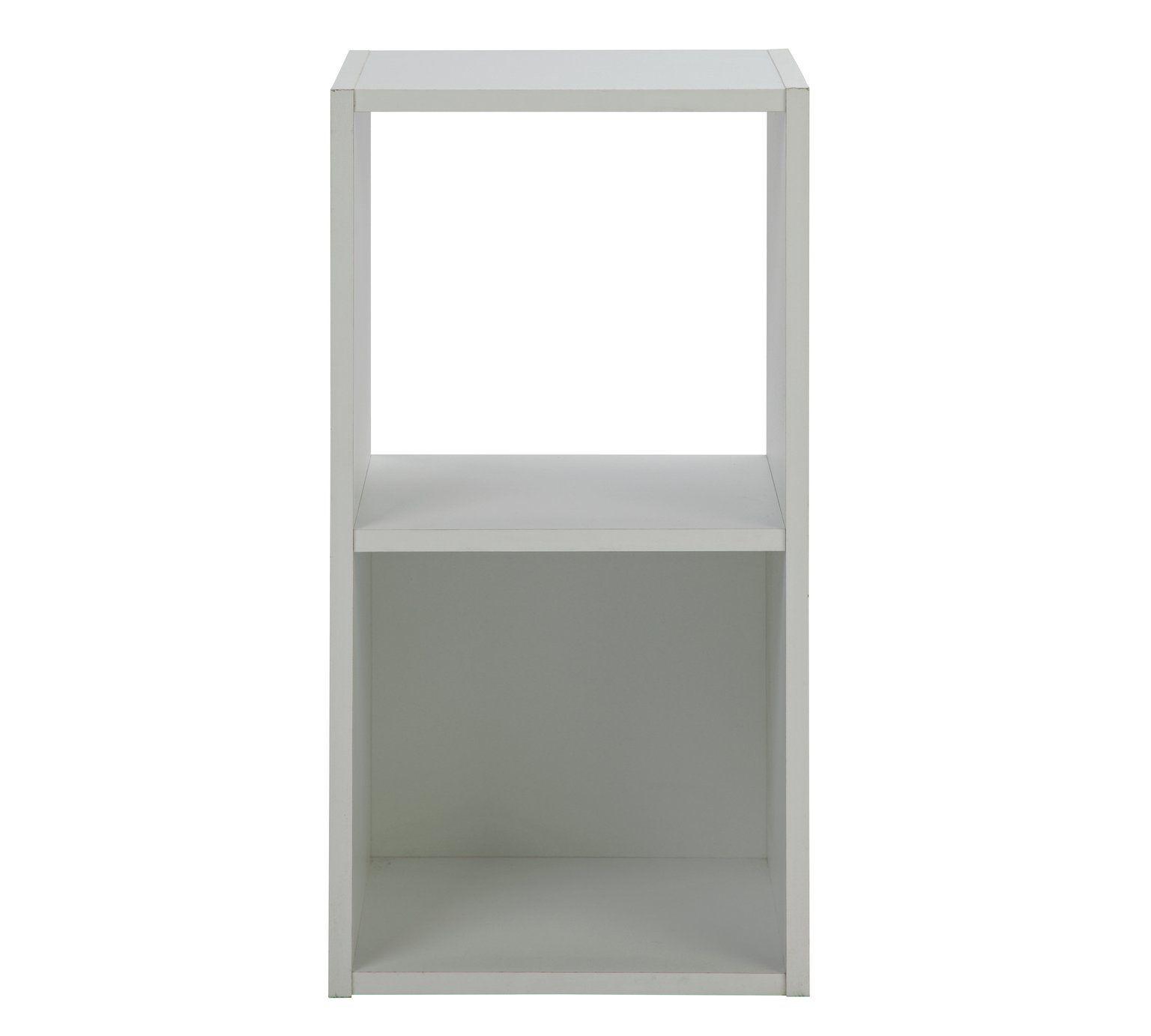 Buy HOME Squares 2 Cube Storage Unit - White at Argos.co.uk  sc 1 st  Pinterest & Buy HOME Squares 2 Cube Storage Unit - White at Argos.co.uk visit ...