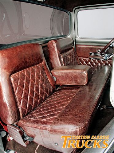 Check Out Daniel Attiass Clean 1956 Ford F 100 Big Window Which Sports A 351 Small Block And Leather Interior Only At Customclassictrucks