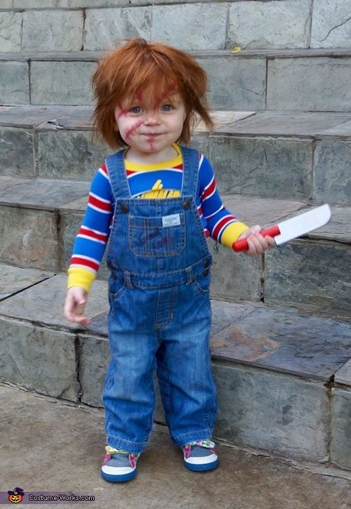 Chucky Baby Girl's Costume Idea