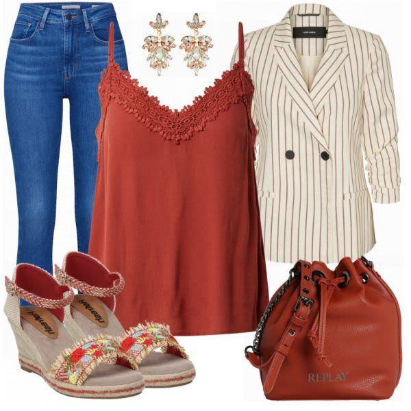 Stylische Sommerlaune Outfit - Sommer-Outfits bei