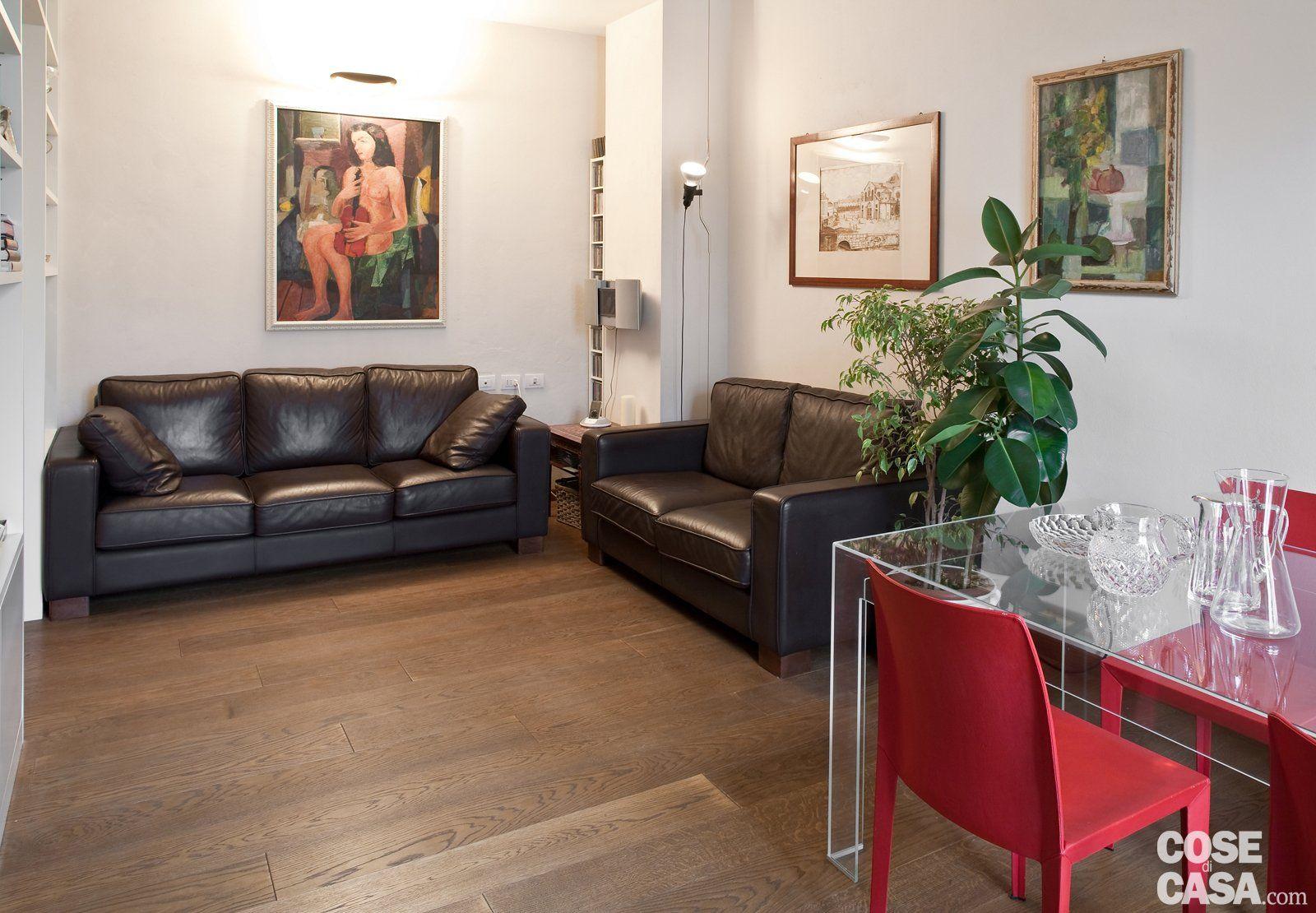 Una Casa Di 80 Mq Superfunzionali Progetto Pianta E Foto Cose Di Casa Idee Di Interior Design Soggiorno Idee Arredamento Soggiorno Appartamento Accogliente