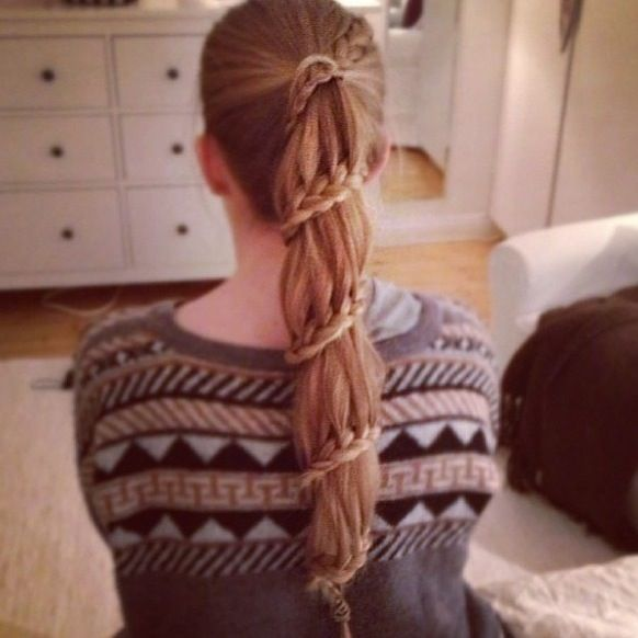 weird braid braided hairstyles