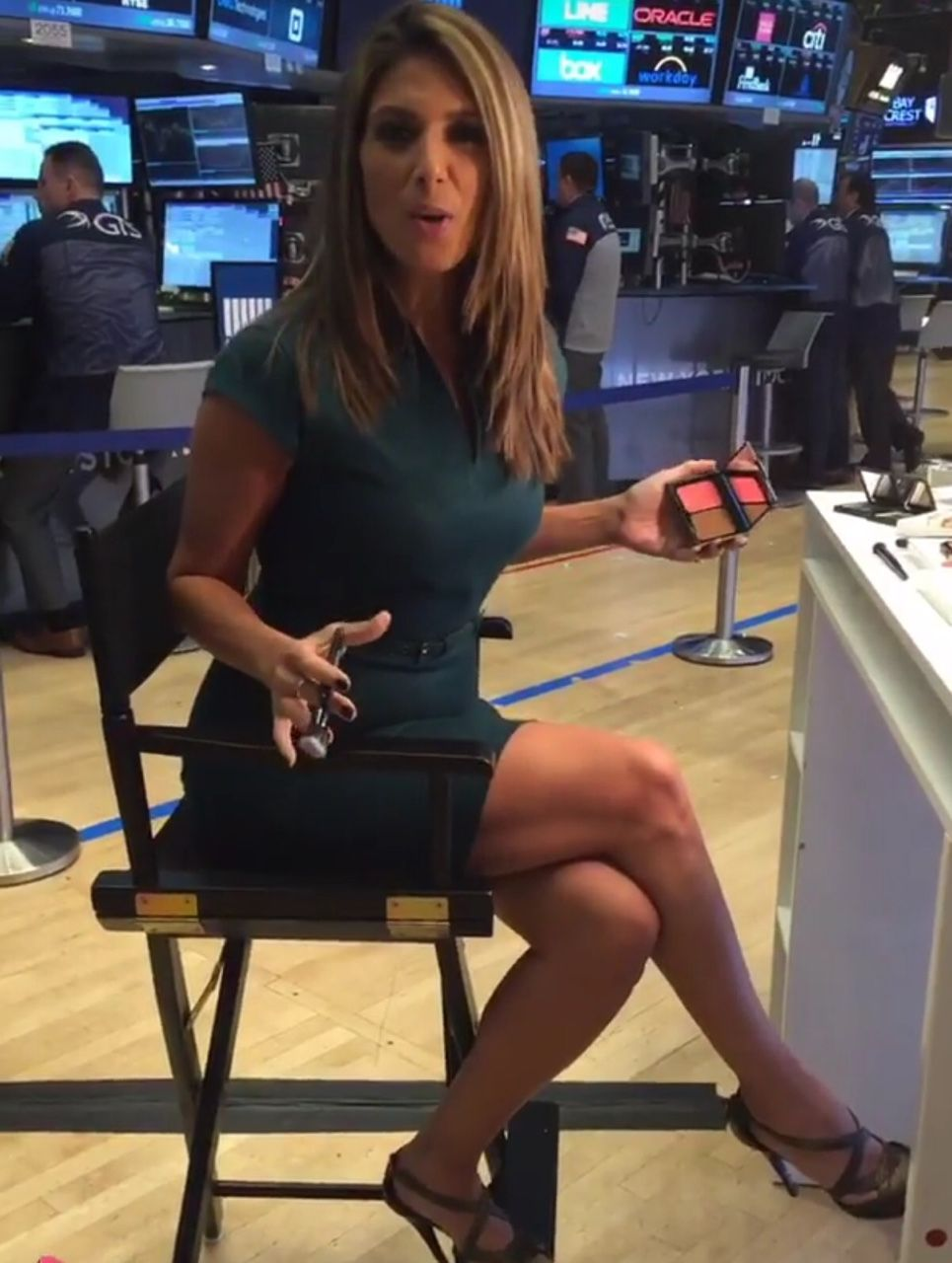 Nicole Petallides Of Fox Business Is Gorgeous Sexy Women Of Tv News